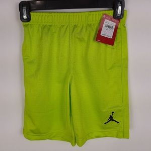 Air Jordans Boys Perforated Basketball Shorts Size